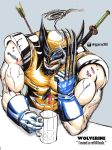 Wolverine Needs a Drink by shiphfwd