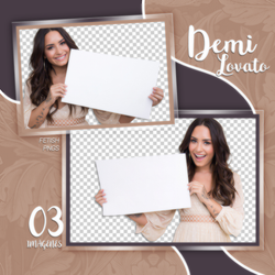 PACK PNG 136 // DEMI LOVATO by fetishpngs