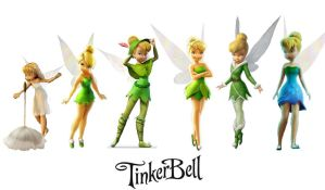 Tinkerbell by glitter-eyed-rabbit