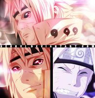 Father and son | Naruto 644 Coloring by DEOHVI
