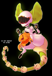 Smol 'n Scary by Rodent-blood