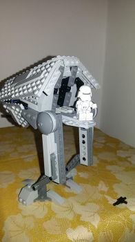 LEGO STAR WARS-First Order Universal Walker hatch by HarryMutant