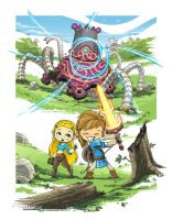 Breath of the Wild - The missing lost memory! by BrainslugComics