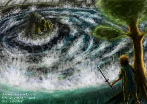 Against the Colossus by nithoan