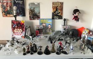 Star Wars Starship collection by KaijuATTACK877