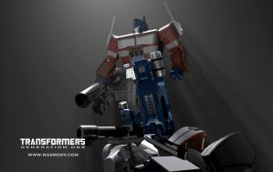 It's over Megatron... G1 by rando3d