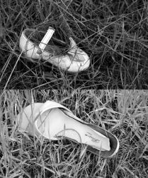 Missing a Shoe by Checkerberry