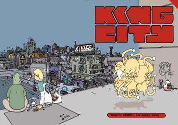 Cat on it's feet. by royalboiler