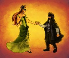 Kili and Tauriel: All the Right Moves WIP by PharMafia-Soldier