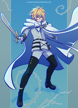 Seraph of the End - Mika by ayashige-doodles
