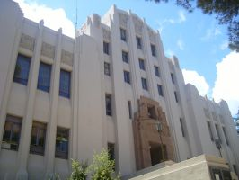 Art Deco Courthouse by theannoyinge