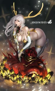 Xmas Special Pinup Twilight Knight by lokmanlam