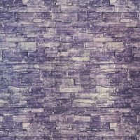 Background: Purple Stone Wall by HGGraphicDesigns