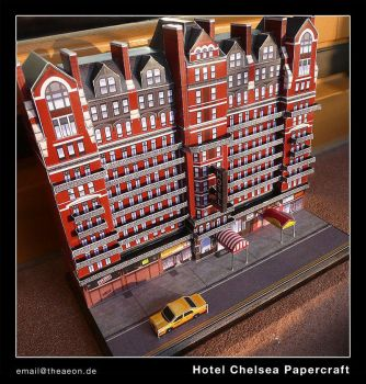 Hotel Chelsea - Papercraft by Aeon2