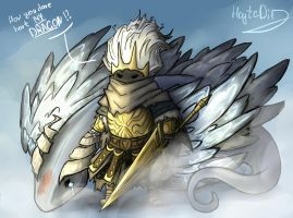 Dark Souls - Nameless King by HayteDiv
