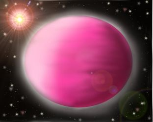 Pink Planet by manipfreak92