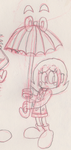 10 Free Sketches #1: Bella and Brolly by Kyleboy21