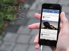 Interface: Facebook on iOS 7 by mppagano