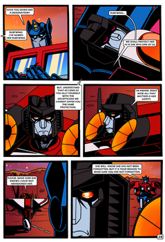 Transformers: Bloodline PAGE 28 by KingRebecca