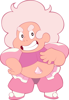 The Mighty Pink Diamond by sparks220stars