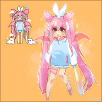 pastel girl challenge by Makohime