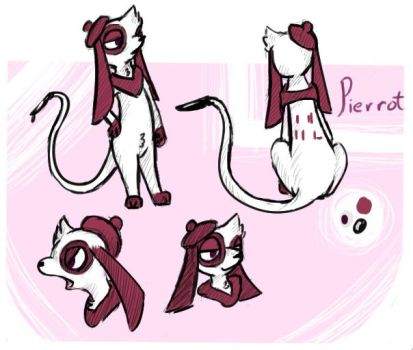 Pierrot by MeowMixItUp