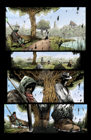 Sequential Coloring The Changer # 2 Page 7 by BouncieD