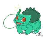-Pokemon Challenge - Bulbasaur by Godspoison