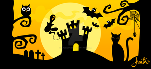 Halloween banner by Kalliope69