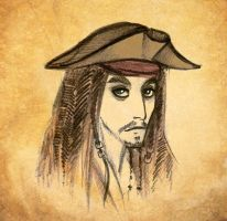 CAPTAIN Jack Sparrow by Hotarubi-Kyoshi