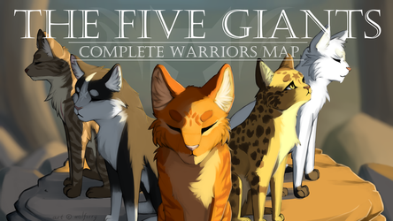 The Five Giants (with text) by WolFirry
