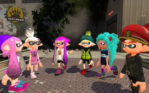Codnia hanging out with Sean and friends by 123emilymason