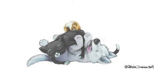 Bolt: Naptime by CatusSnake