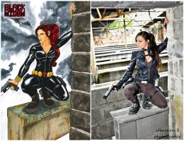 Widow 1 side by side by BringerOfStorms