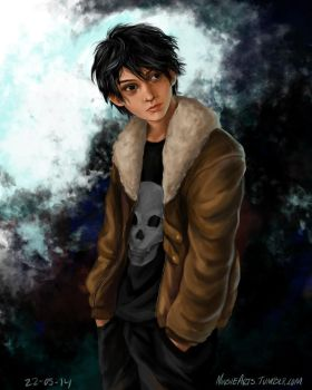 Nico di Angelo by MonsieArts