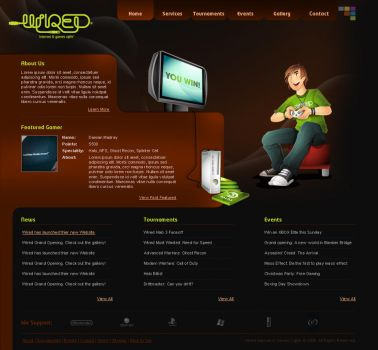 Wired Internet Games and Cafe by depthskins
