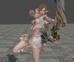 Lineage 2 Revolution ELF pose animation by ysc976