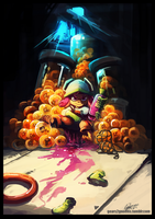 Salmon run successful by knight-mj