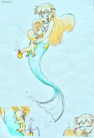 Charmy  and Mermaid Misty by C-Studios