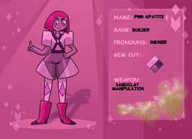 Pink Apatite MDC app by mitzuliina
