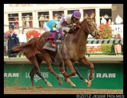 I'll Have Another wins the Kentucky Derby by Jessie-kad