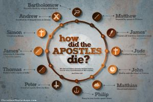 How did the apostles die? by kevron2001