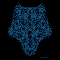 Wolf Tribal Head by aircool66