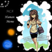 Human meme ew by KlownCar