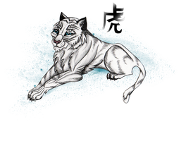White Tiger - Max by Wol4ica