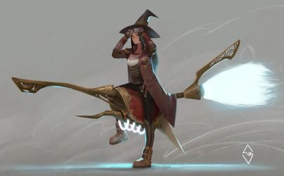 Witch Bikers by mangamie
