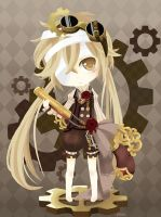 Cute Steampunk by Merollet