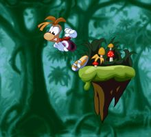 Rayman: Don't fall by Sandette
