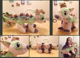 Crocadog Plush by NoxxPlush