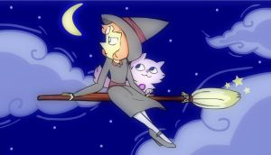 Witch Pearl by cartoonist66